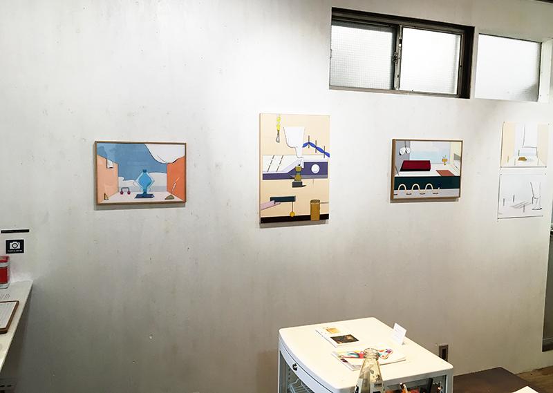 カワイハルナ 個展「海を見る」@PARK GALLERY