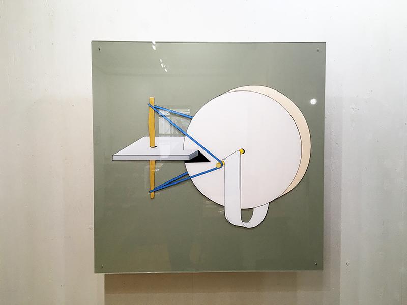 作品:円と板