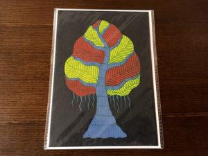 『夜の木』カード