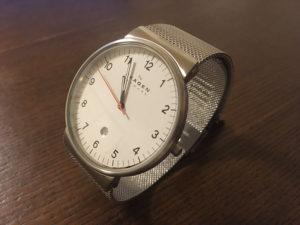 これぞシンプルデザイン。視認性抜群の腕時計『SKAGEN SKW6025』